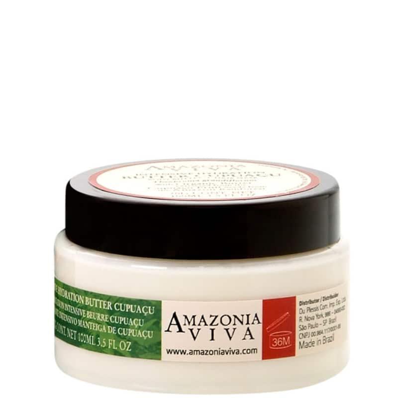 Amazonia Viva Intensive Hydration Butter Cupuaçu - Manteiga Corporal e Máscara Capilar 100ml