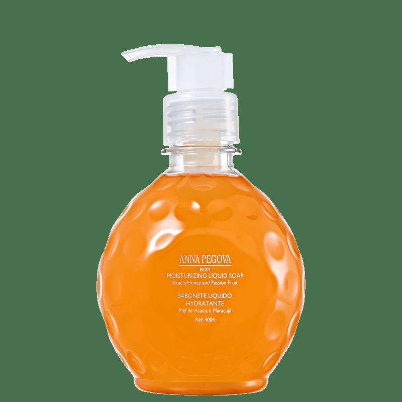 Anna Pegova Passion Savon Creme Hydratant Miel d' Acacia Et Fruit de La Passion - Sabonete Esfoliante 310ml