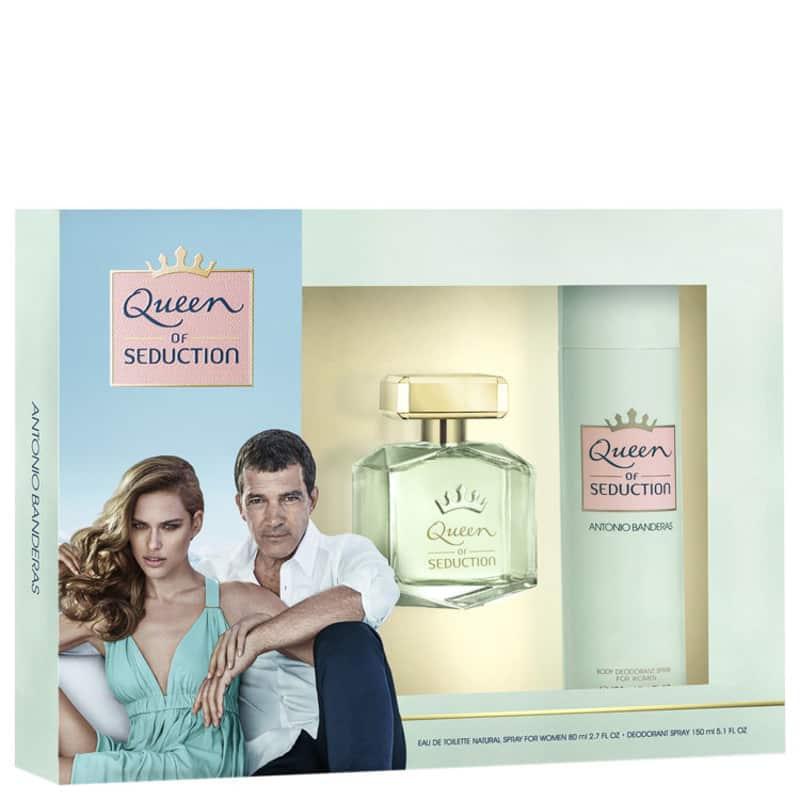 Conjunto Queen of Seduction Antonio Banderas - Eau de Toilette 80ml + Desodorante 150ml
