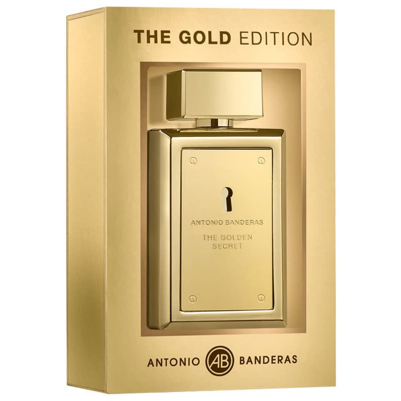 Golden Secret The Gold Edition Antonio Banderas Eau de Toilette - Perfume Masculino 100ml