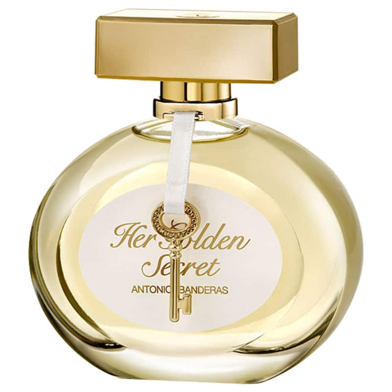 Her Golden Secret Antonio Banderas Eau de Toilette - Perfume Feminino 50ml