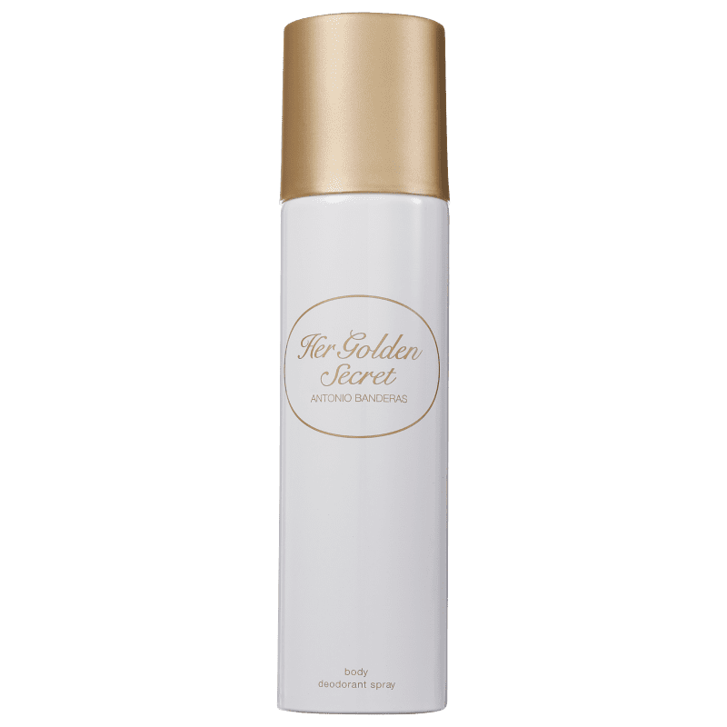 Antonio Banderas Secret Her Golden - Desodorante Feminino 150ml