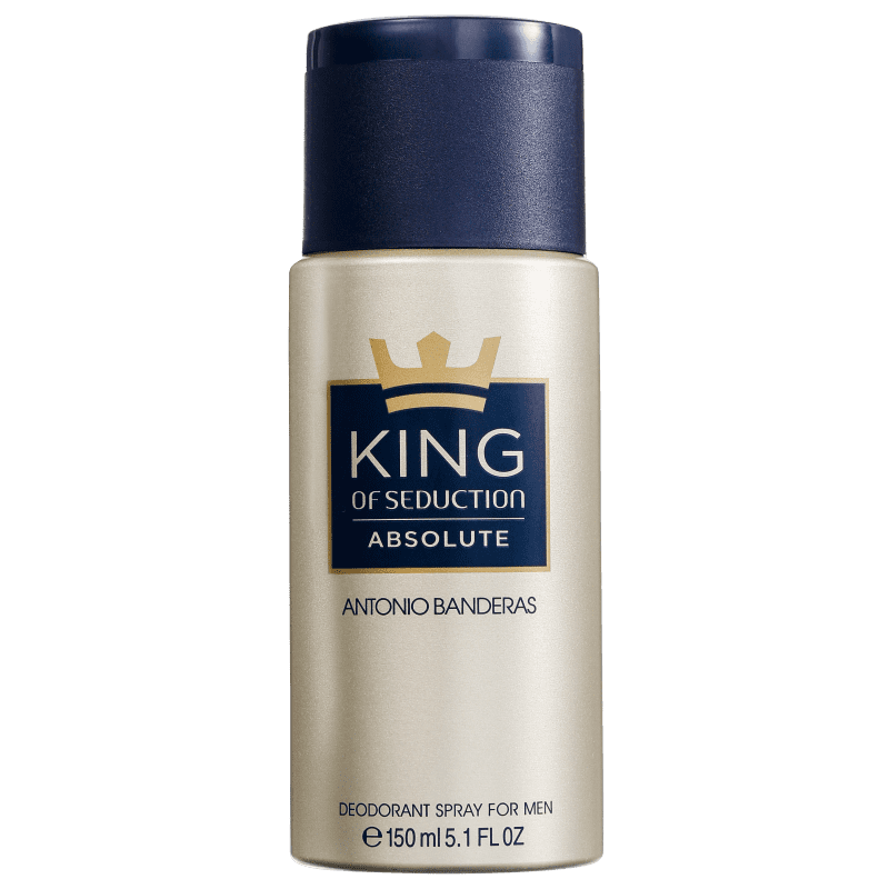 Antonio Banderas Seduction King of Absolute - Desodorante Masculino 150ml