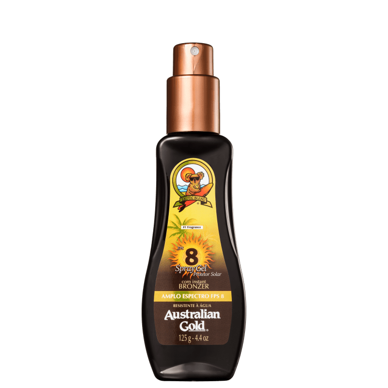 Australian Gold FPS 8 - Protetor Solar em Spray 125ml