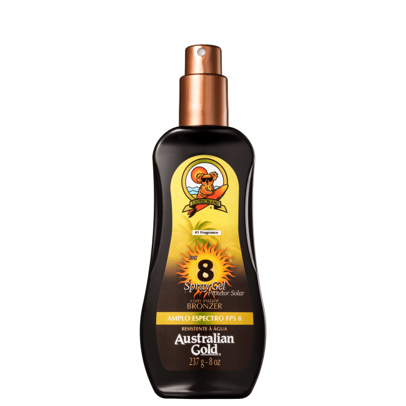 Australian Gold FPS 8 - Protetor Solar em Spray 237ml