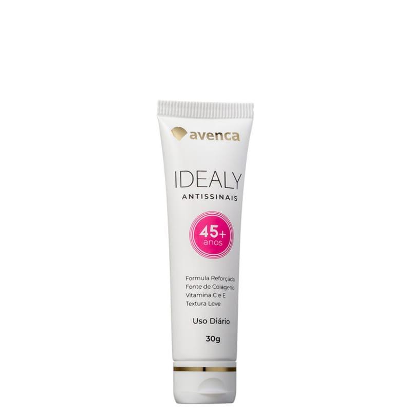 Avenca Idealy 45+ Antissinais - Creme Anti-Idade 30g