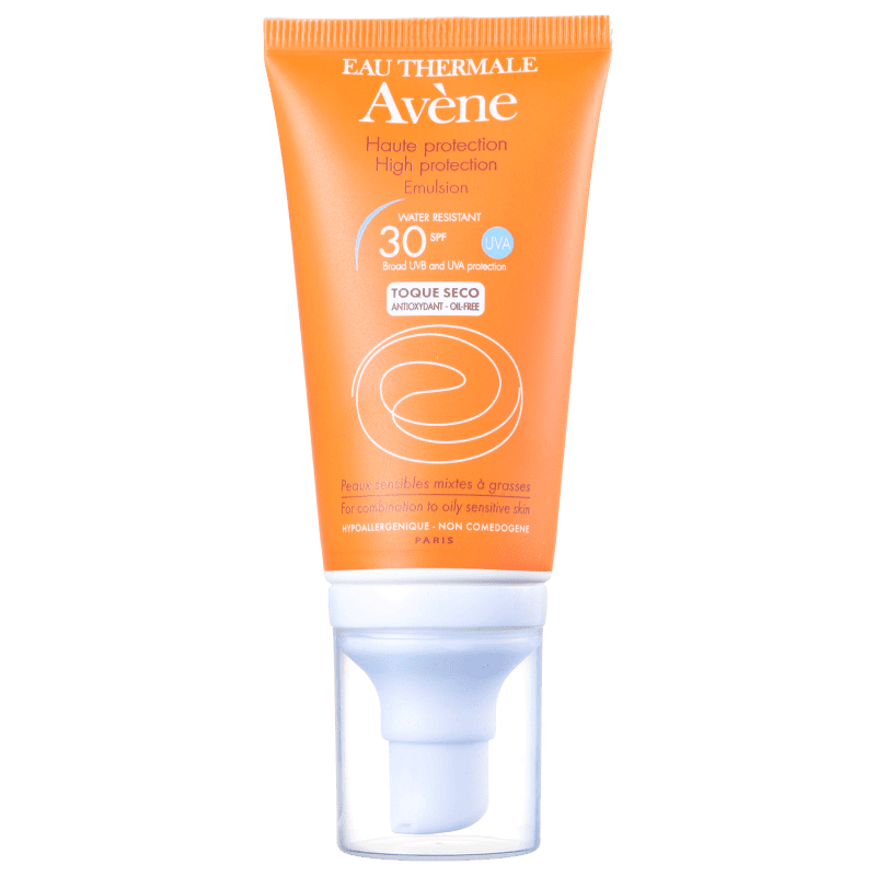 c8ba3f6e17816 Protetor Solar Avène High Protection Facial FPS 30   Beleza na Web