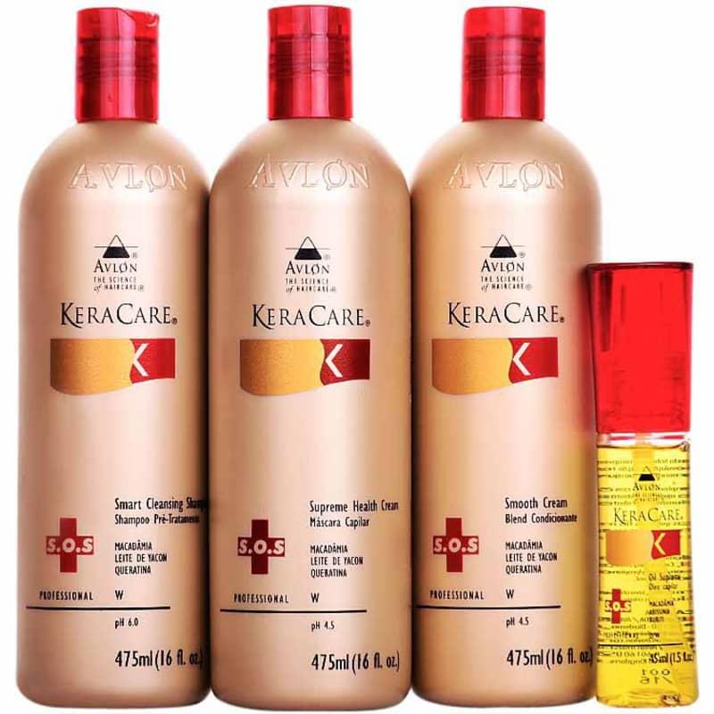Avlon Keracare Ritual Sos Hidratação Kit (4 Produtos)