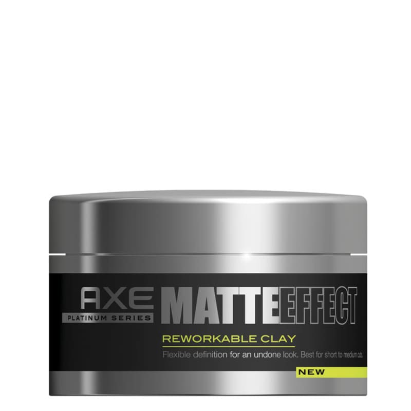 Axe Matte Effect Reworkable Clay - Pomada Modeladora 93g