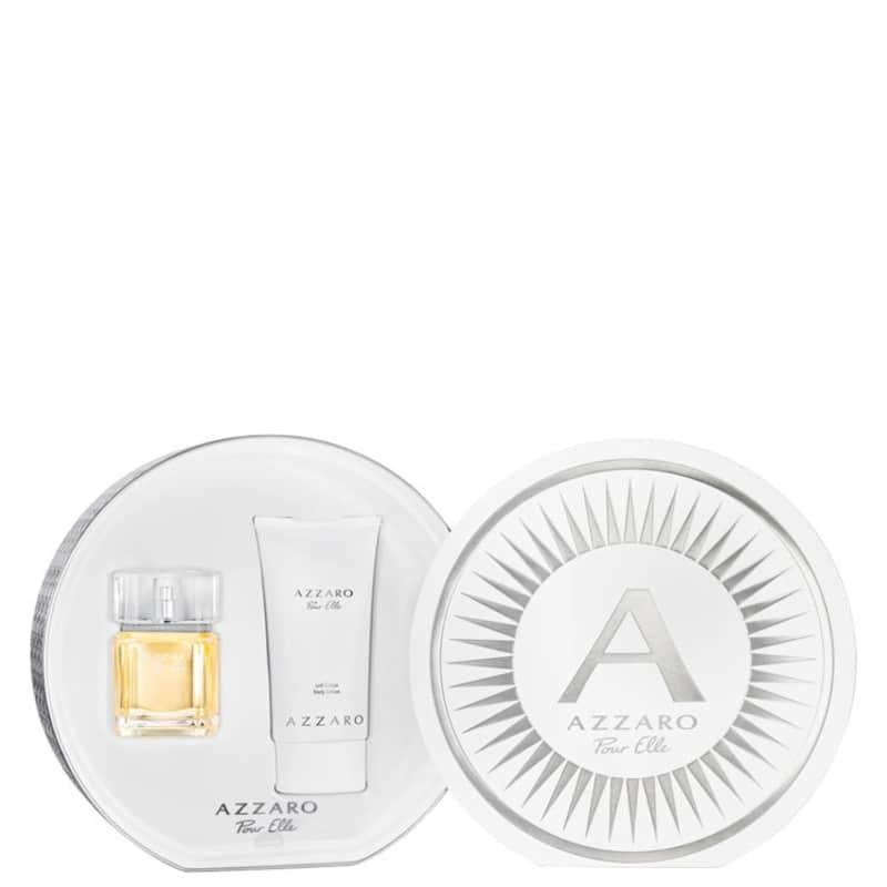 Conjunto Azzaro Pour Elle Gift Feminino - Eau de Parfum 50ml + Loção Corporal 150ml