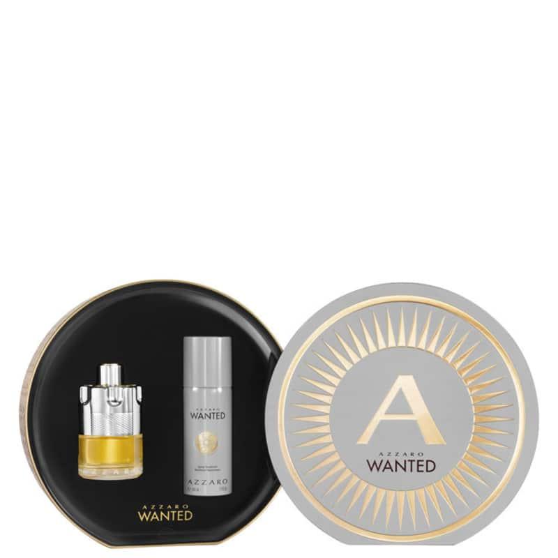 Conjunto Azzaro Wanted Gift Masculino - Eau de Toilette 100ml + Desodorante 150ml