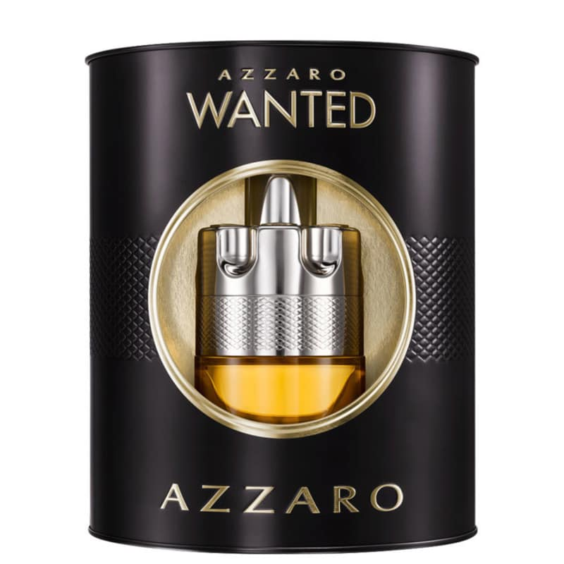 Conjunto Azzaro Wanted Event Masculino - Eau de Toilete 100ml + Hidratante Facial 50ml
