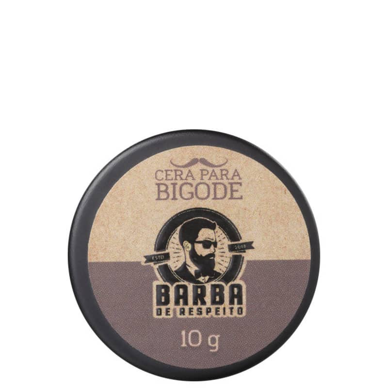 Barba de Respeito - Cera para Bigode 10g