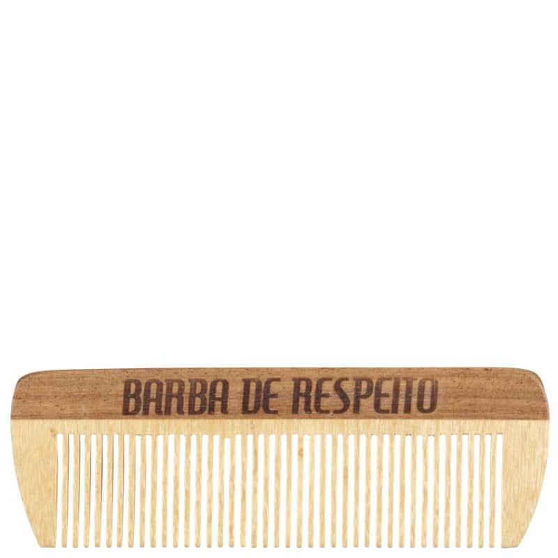 Barba de Respeito de Bolso - Pente de Madeira