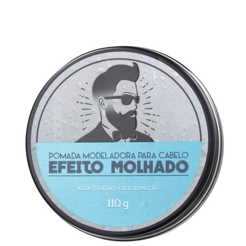 Barba de Respeito Efeito Molhado - Pomada Modeladora 110g