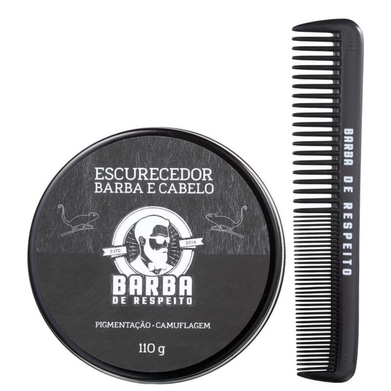 Barba de Respeito Escurecedor de Barba - Bálsamo Tonalizante 110g