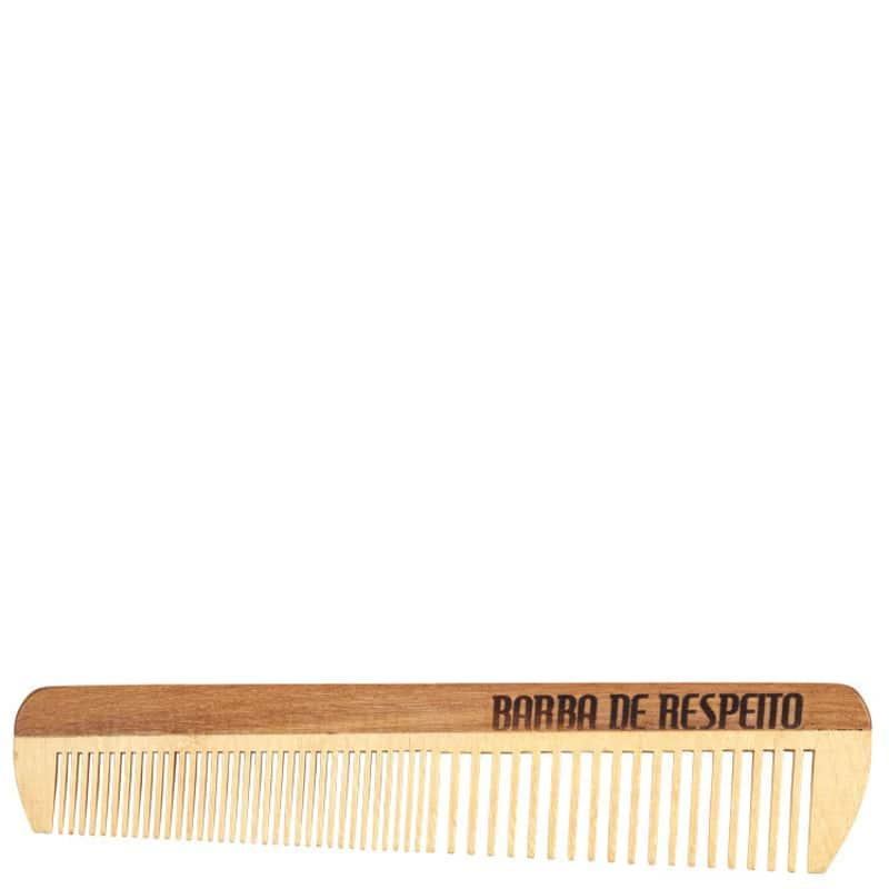 Barba de Respeito Large Wood - Pente de Madeira