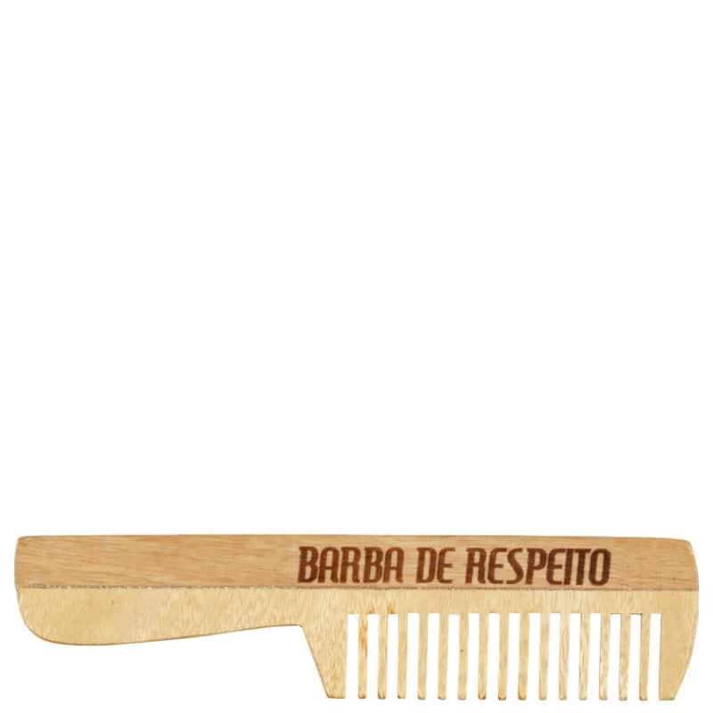 Barba de Respeito Olden - Pente de Madeira