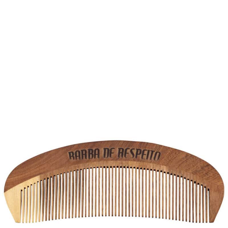 Barba de Respeito Original - Pente de Madeira