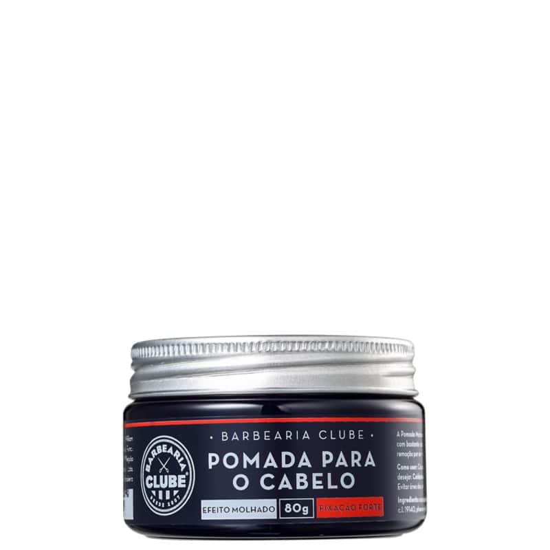 Barbearia Clube Efeito Molhado - Pomada Modeladora 80g