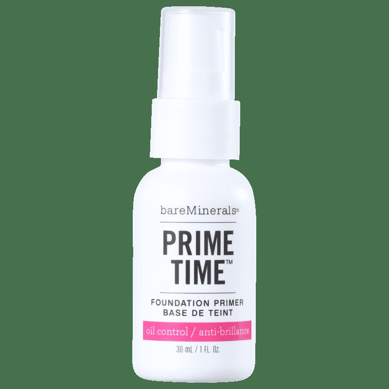 bareMinerals Prime Time Oil Control Foundation Primer - Primer 30ml