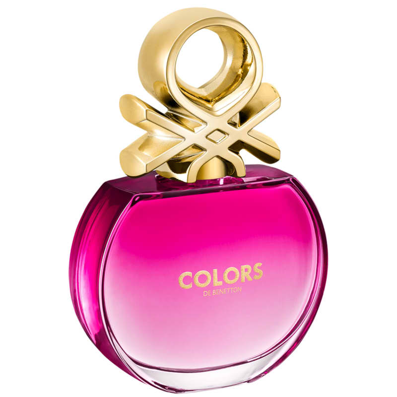 Colors Pink Benetton Eau de Toilette - Perfume Feminino 80ml