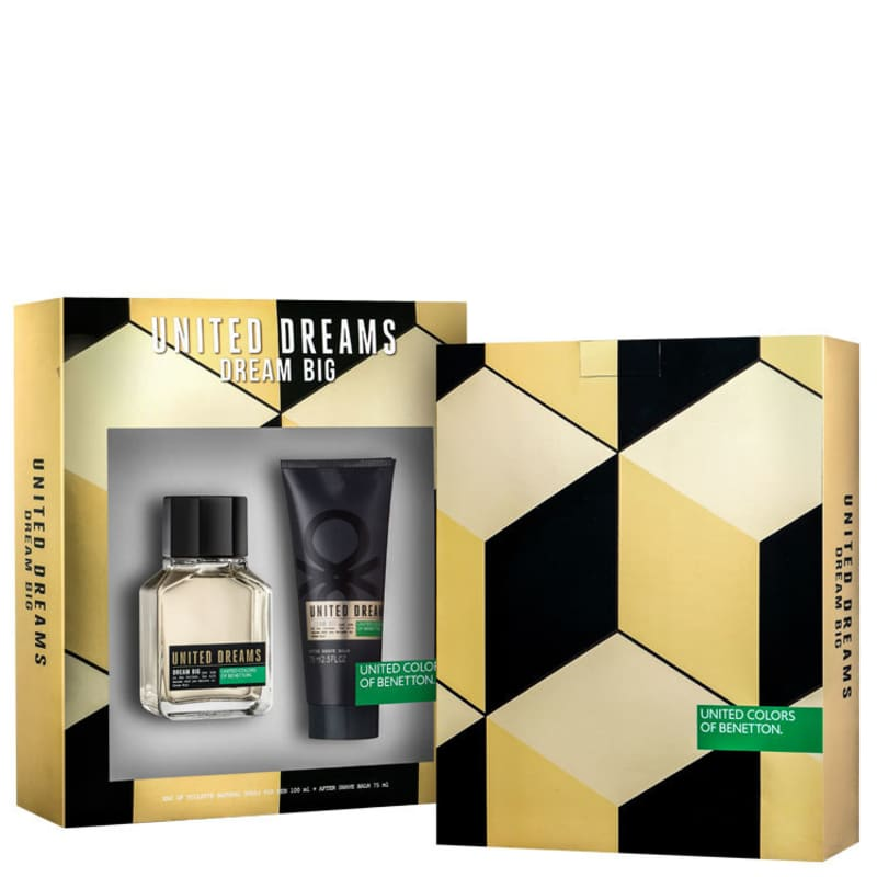Conjunto Dream Big Man Benetton Masculino - Eau de Toilette 100ml + Bálsamo Pós-Barba 75ml