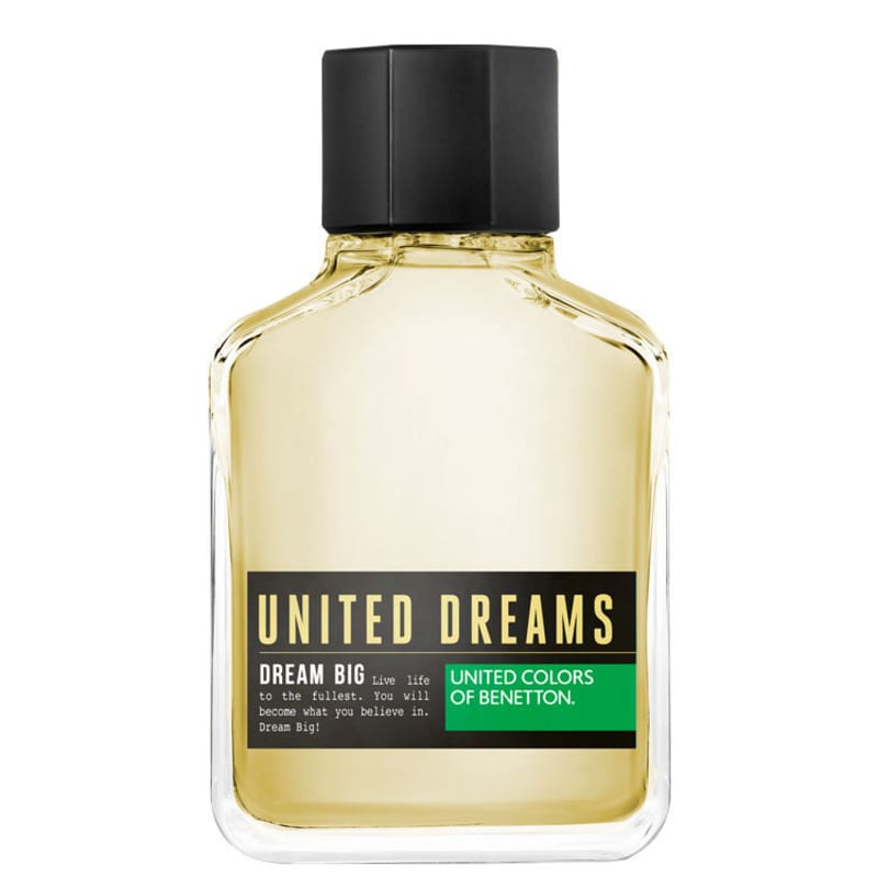 Dream Big Man Benetton Eau de Toilette - Perfume Masculino 200ml