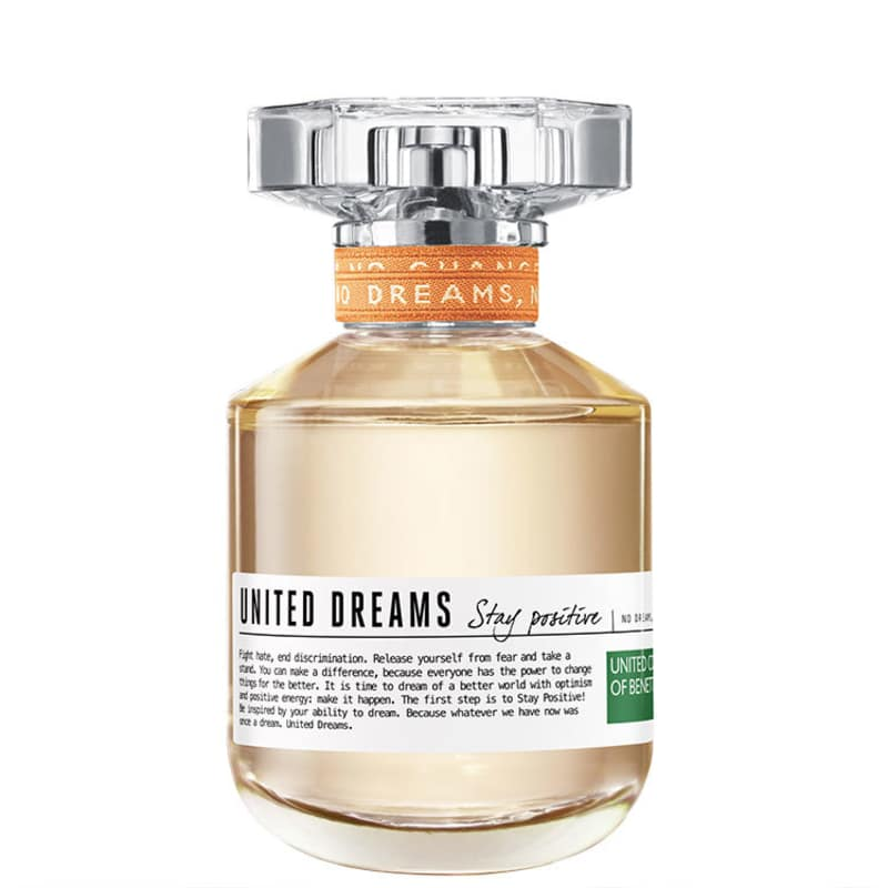 United Dreams Stay Positive Benetton Eau de Toilette - Perfume Feminino 50ml