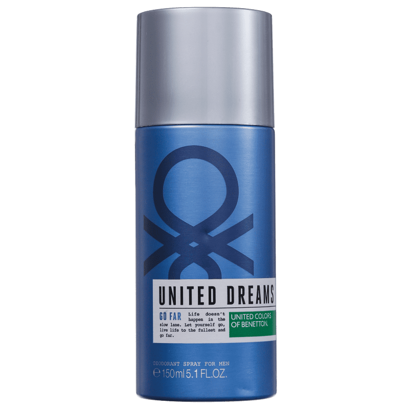 Benetton United Dreams Go Far - Desodorante Spray Masculino 150ml