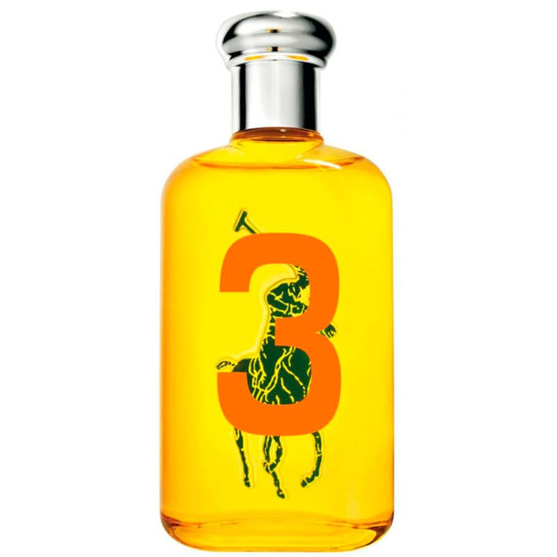 Big Pony Yellow 3 For Women Ralph Lauren Eau de Toilette - Perfume Feminino 30ml