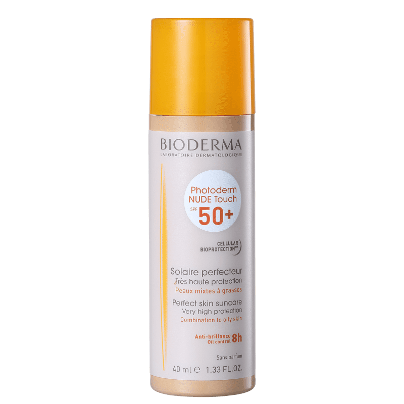 Bioderma Photoderm Nude Touch FPS 50 Claro - Protetor Solar com Cor 40ml