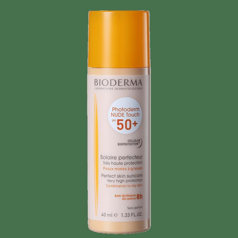 Bioderma Photoderm Nude Touch FPS 50 Muito Claro - Protetor Solar com Cor 40ml