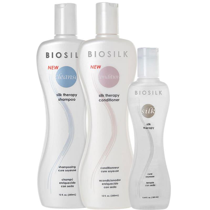 Kit Biosilk Silk Therapy Trio (3 Produtos)