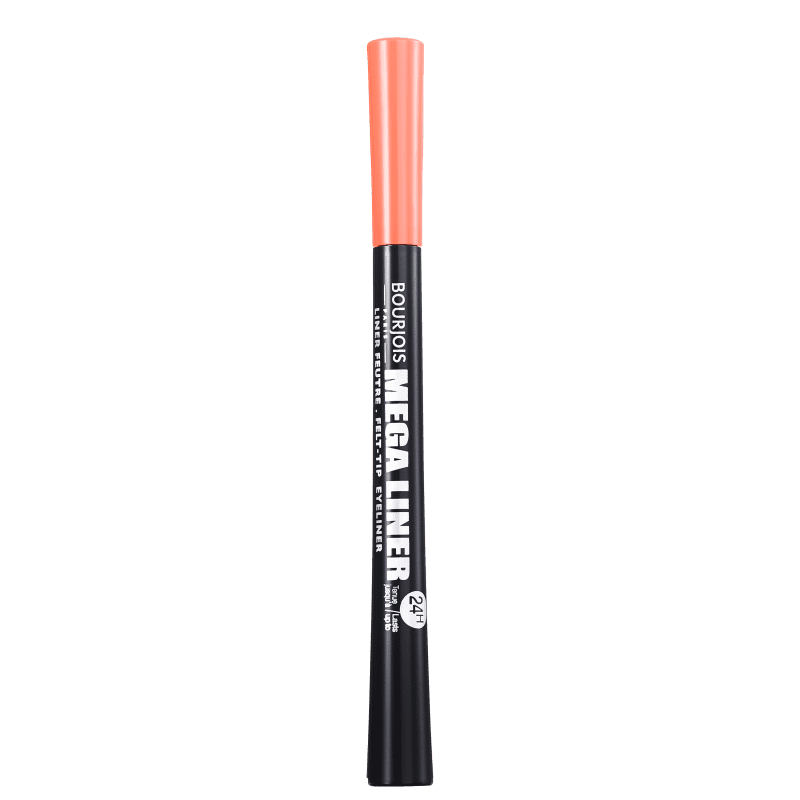 Bourjois Mega Liner Dark Black - Caneta Delineadora 6g