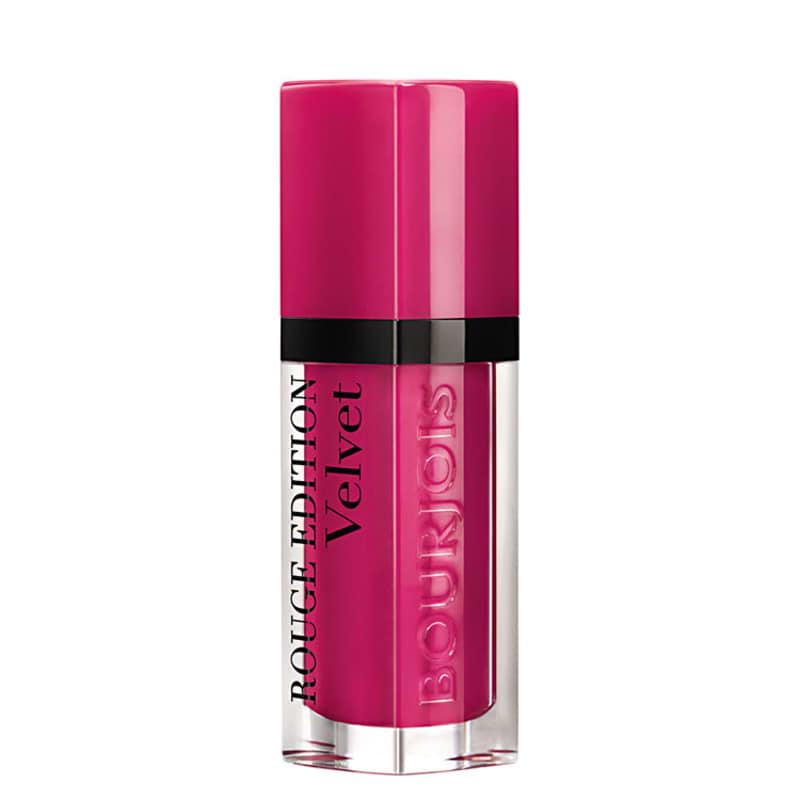Bourjois Rouge Edition Velvet 06 Pink Pong - Batom Líquido Matte 7,7ml