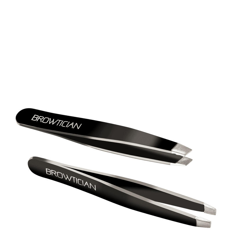 Browtician Mini Duo - Pinças de Bolso (2 unidades)