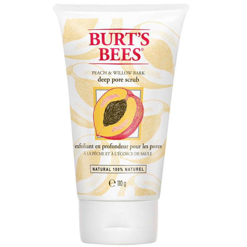 Burt's Bees Peach & Willow Bark Deep Pore Scrub - Esfoliante 136g