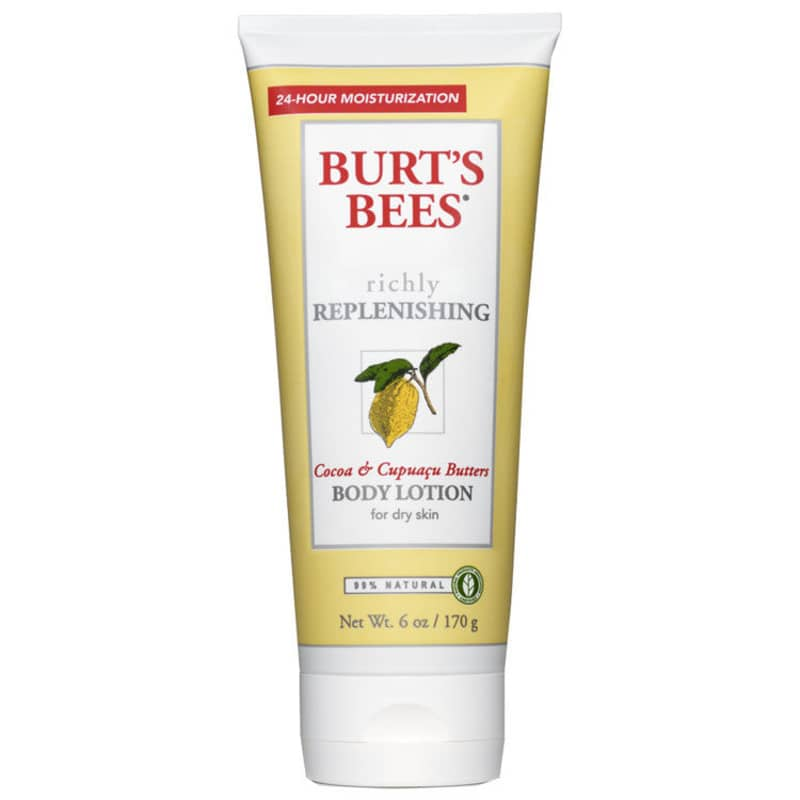 Burt's Bees Richly Replenishing Cocoa & Cupuaçu Butters Body Lotion - Loção Corporal 170g