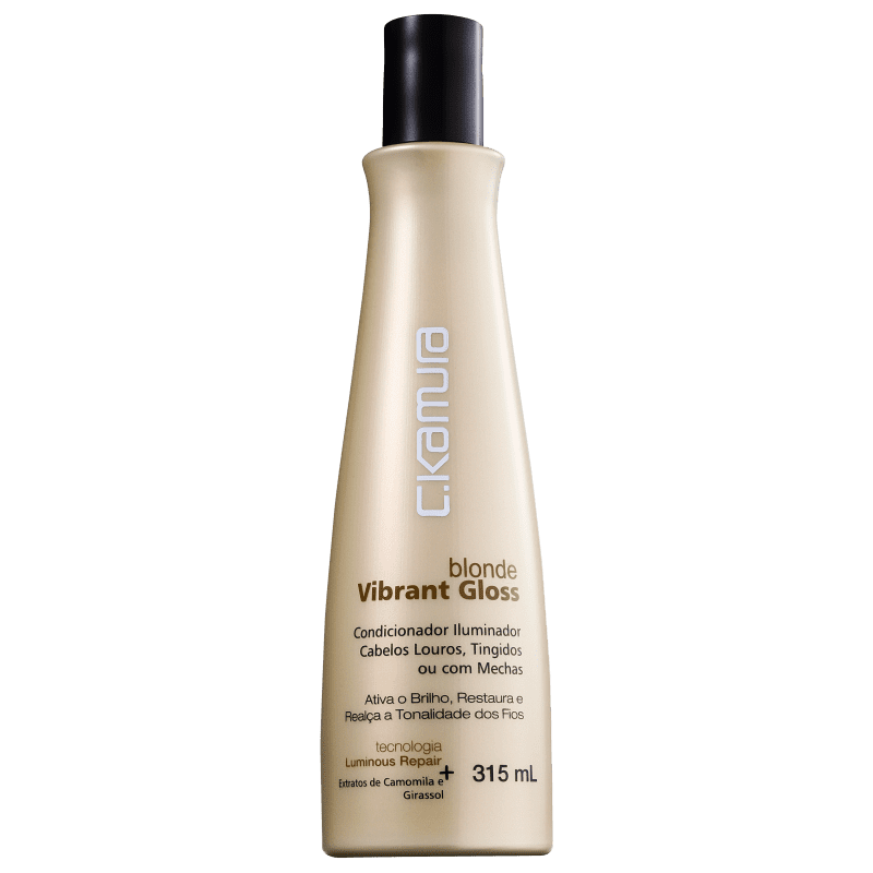 C.Kamura Blonde Vibrant Gloss - Condicionador 315ml