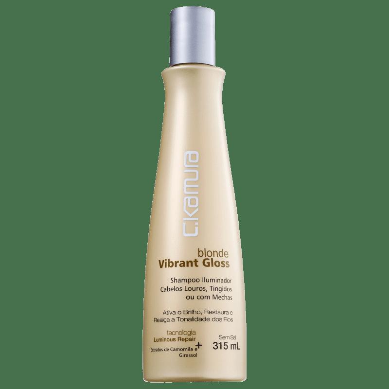 C.Kamura Blonde Vibrant Gloss - Shampoo Clareador 315ml