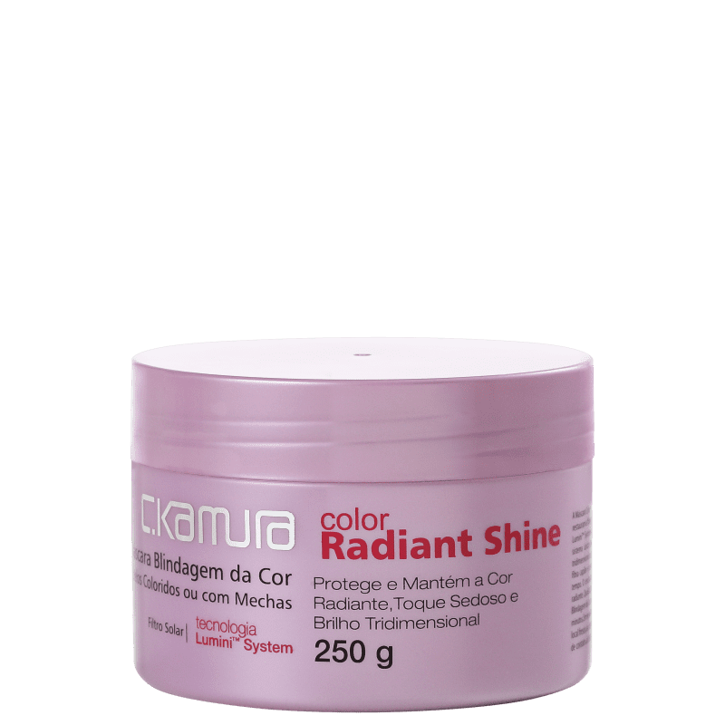 C.Kamura Color Radiant Shine - Máscara Capilar 250g