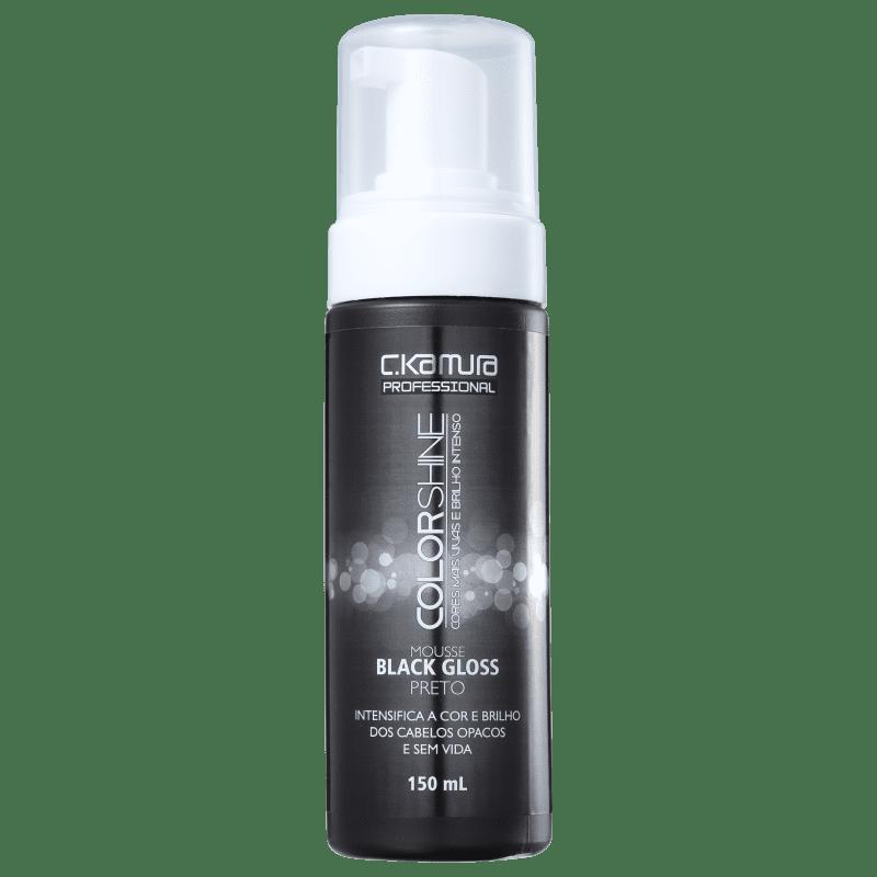 C.Kamura Color Shine Black Gloss - Mousse Tonalizante 150ml