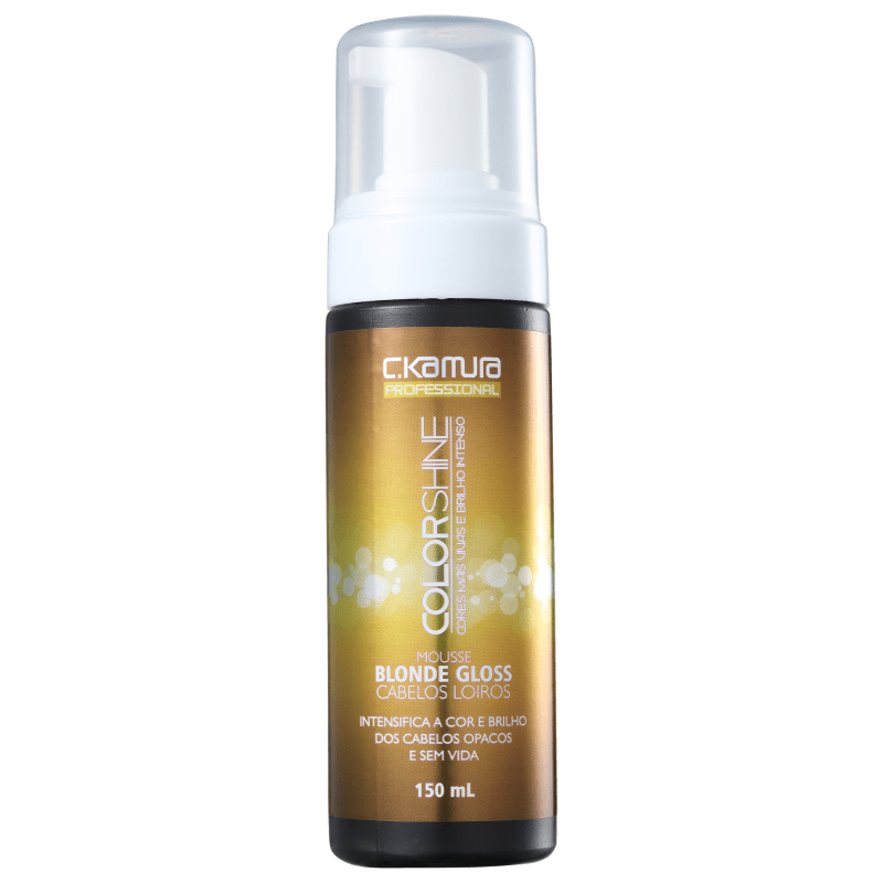 C.Kamura Color Shine Blonde Gloss - Mousse Tonalizante 150ml