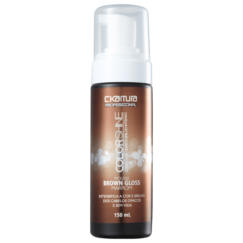 C.Kamura Color Shine Brown Gloss - Mousse Tonalizante 150ml