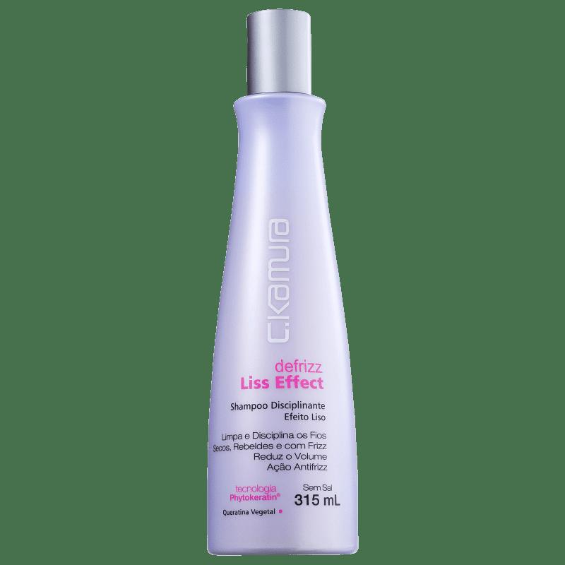 C.Kamura Defrizz Liss Effect - Shampoo sem Sal 315ml