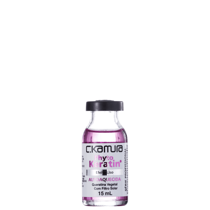 C.Kamura Phyto Keratin Efeito Liso - Ampola de Tratamento 15ml