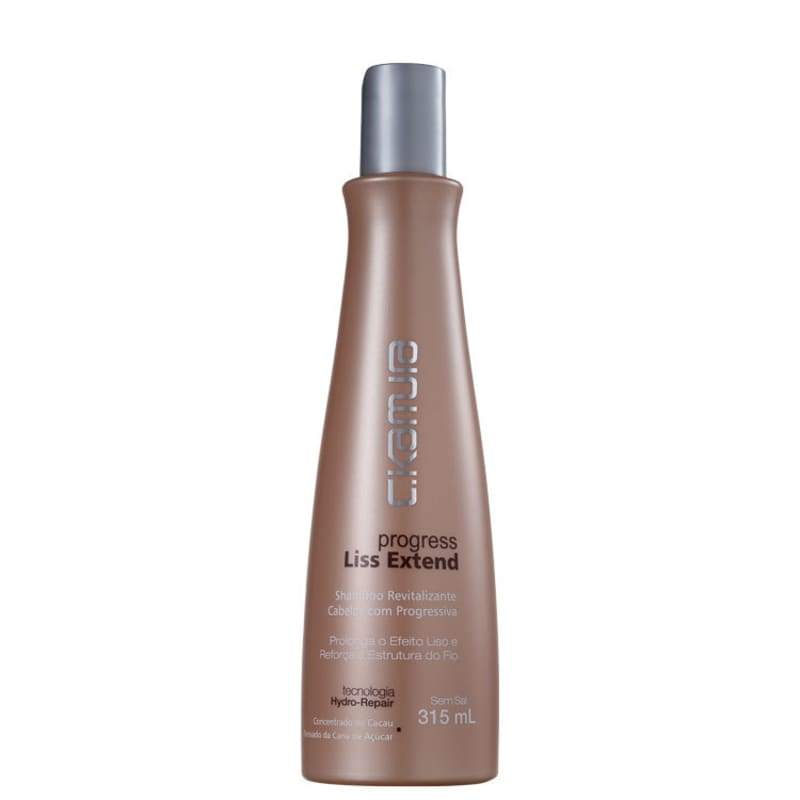 C.Kamura Progress Liss Extend - Shampoo sem Sal 315ml