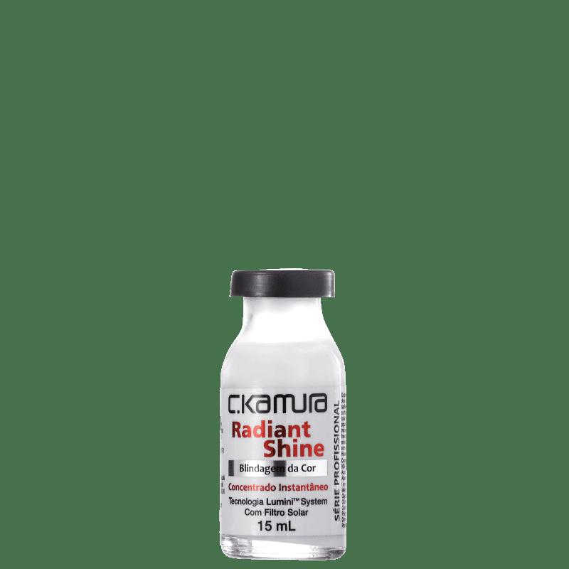 C.Kamura Radiant Shine Blindagem da Cor - Ampola de Tratamento 15ml