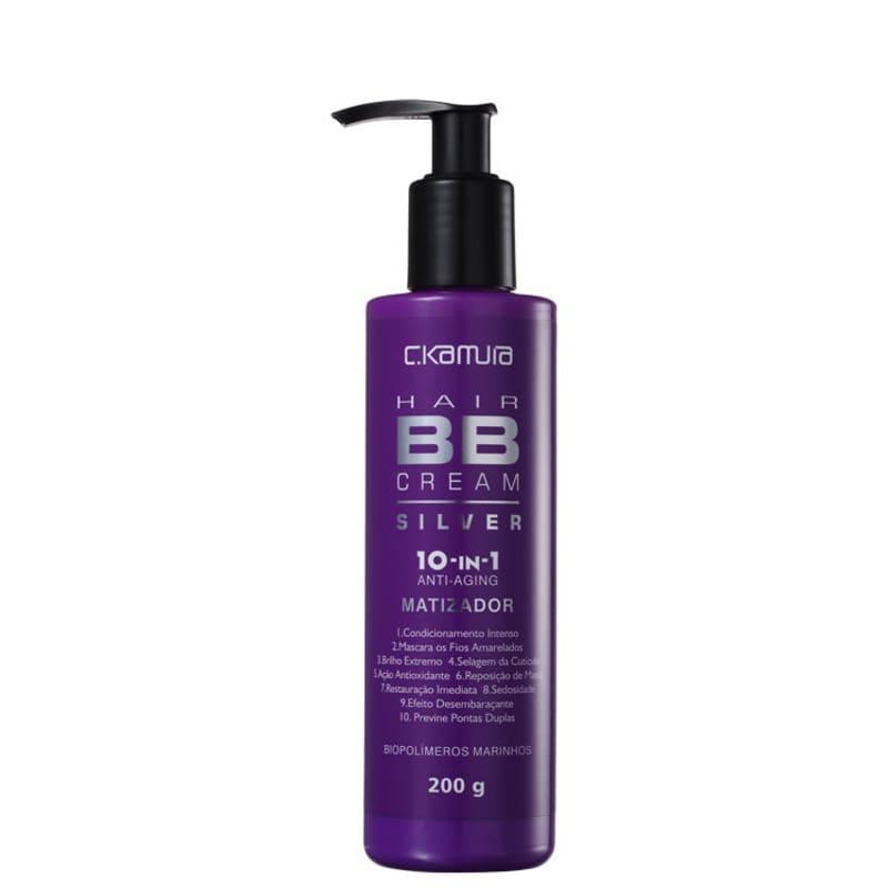 C.Kamura Silver BB Cream Hair 10-In-1 - Tratamento Capilar 200g